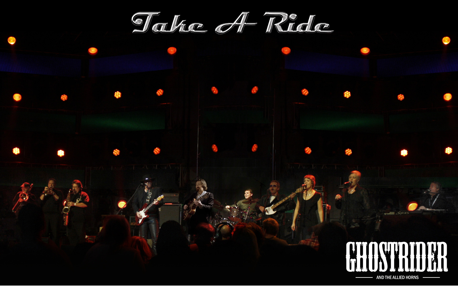 """Res: 1920x1200, Ghostrider is pleased to offer FREE Wallpapers created from band photos and  artwork featured on the band's albums - """"Take A Ride"""" and """"House Rockin""""."""