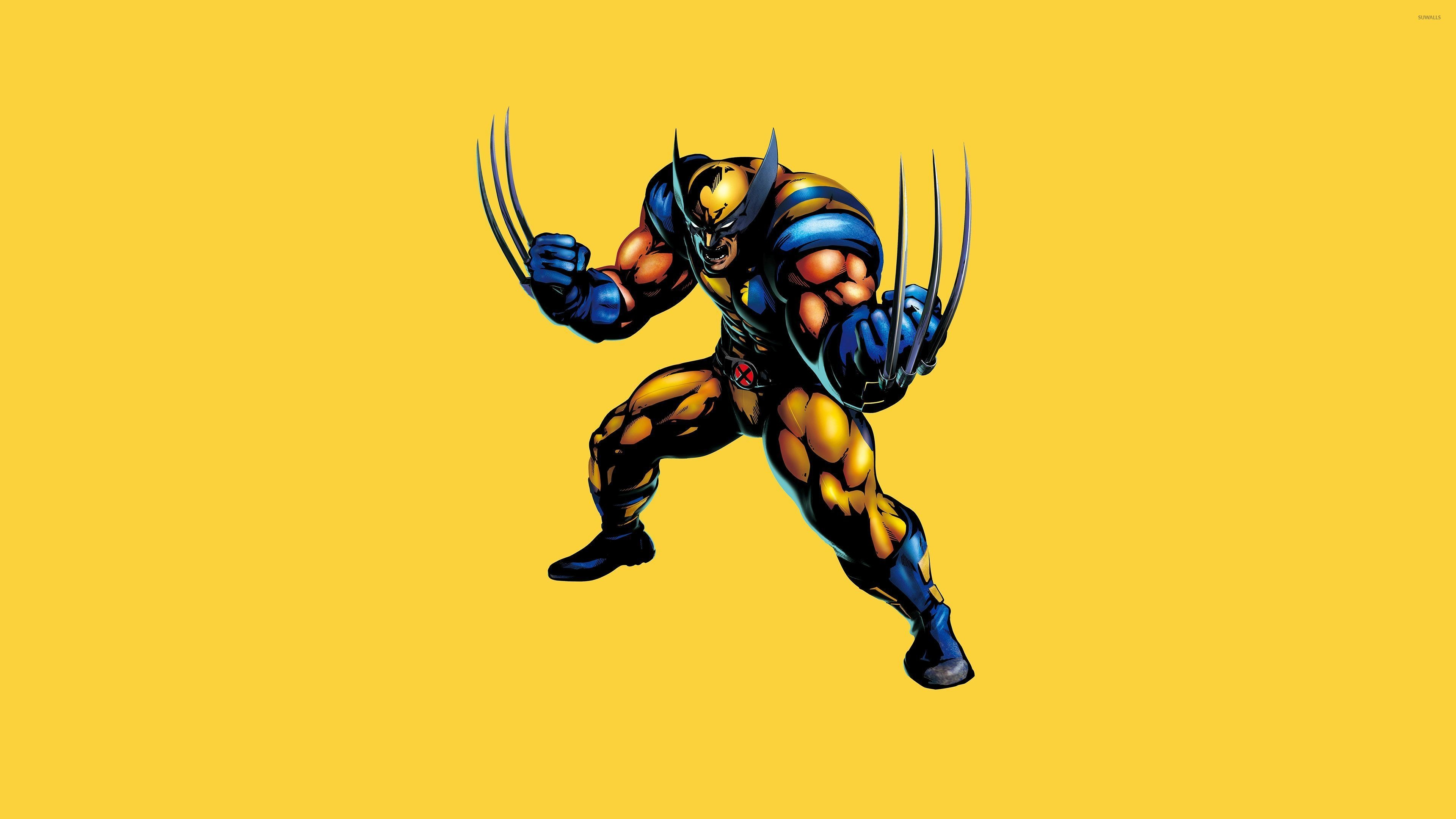 Res: 3840x2160, Wolverine ready for a fight wallpaper
