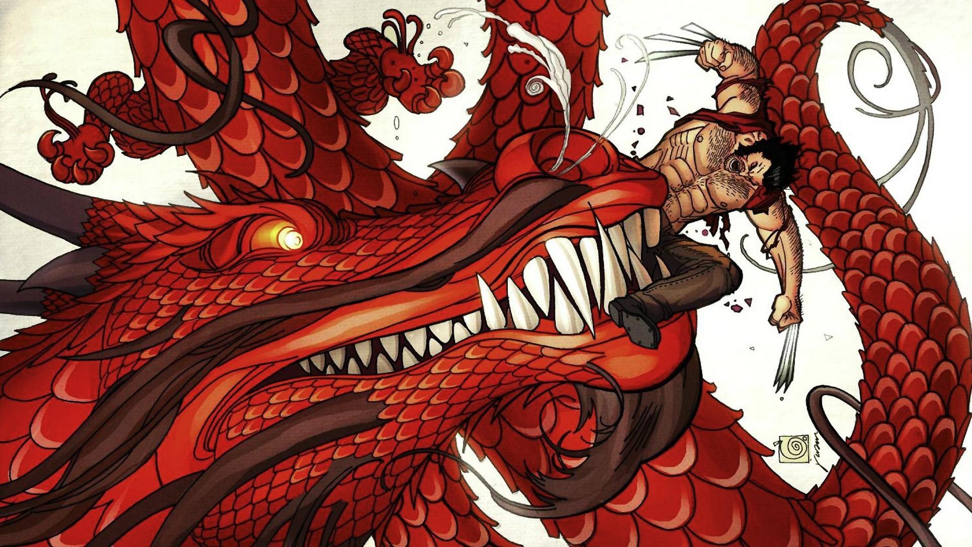 Res: 1920x1080, Dragons comics wolverine wallpaper