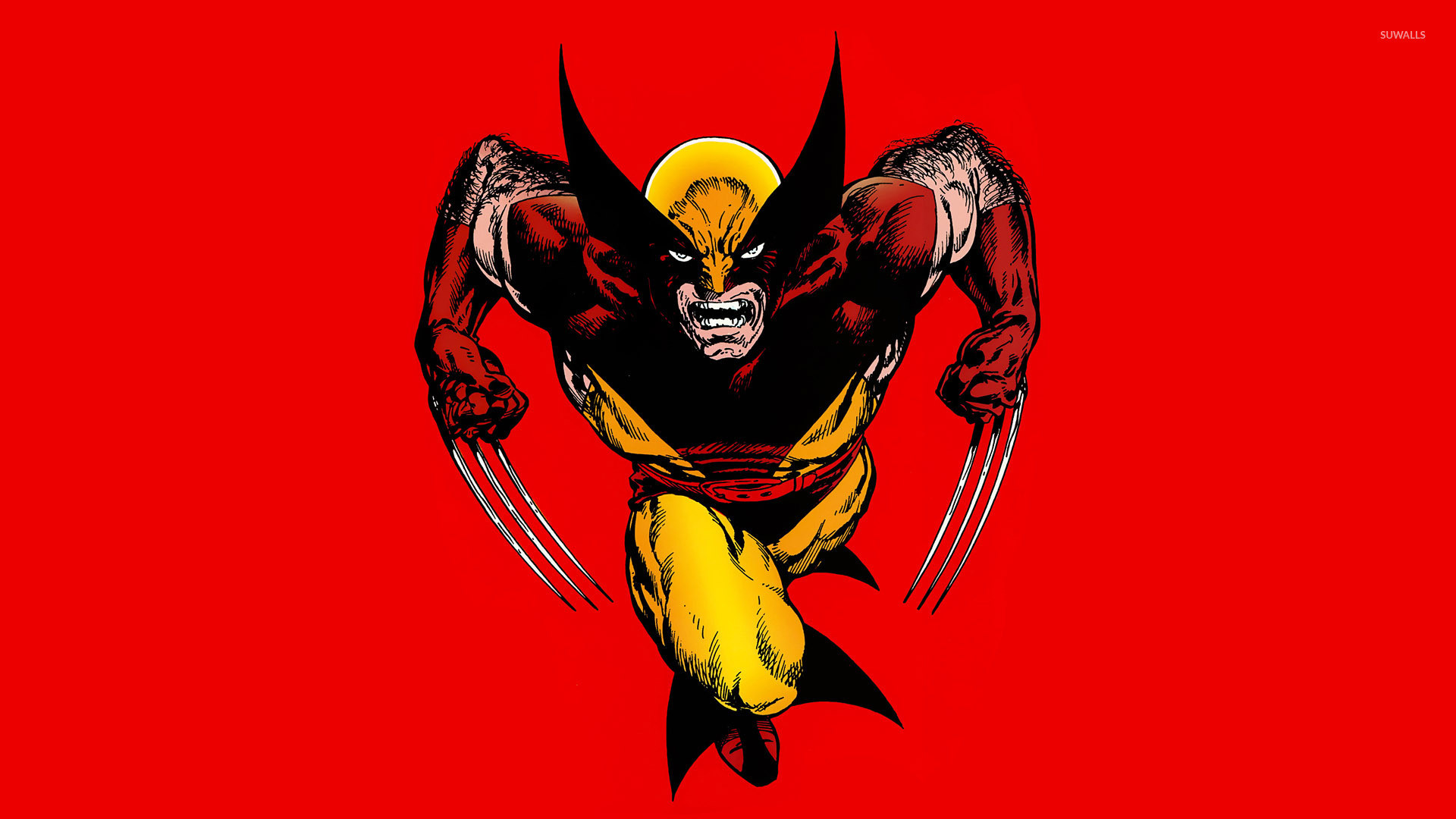 Res: 1920x1080, Wolverine in a fight wallpaper