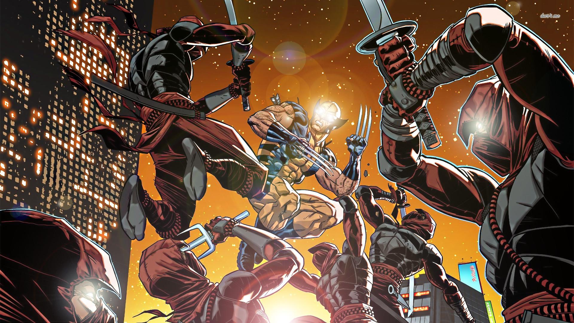 Res: 1920x1080, ... Wolverine wallpaper  ...