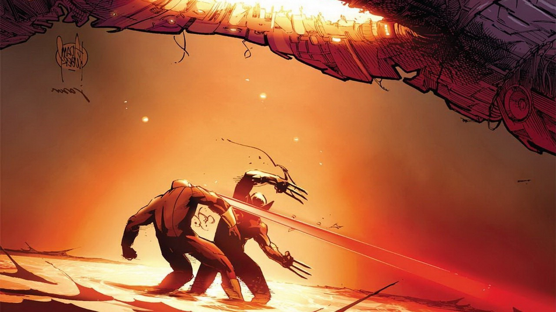 Res: 1920x1080, comics wolverine cyclops wallpaper and background