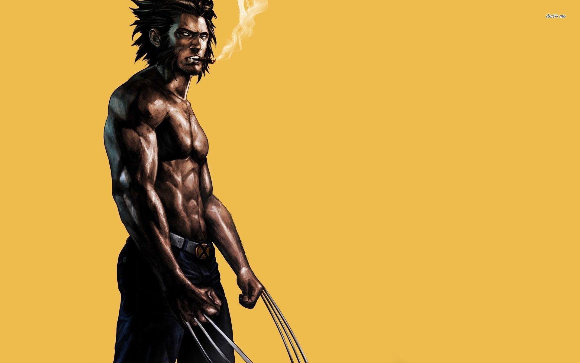 Res: 1920x1200, ... Wolverine wallpaper  ...