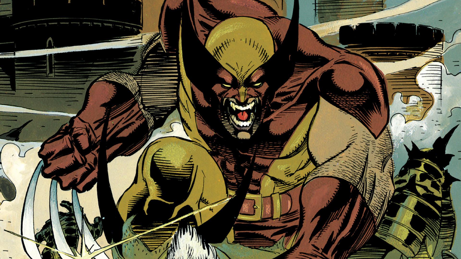 Res: 1920x1080,  wallpaper Wolverine, x-men, marvel comics