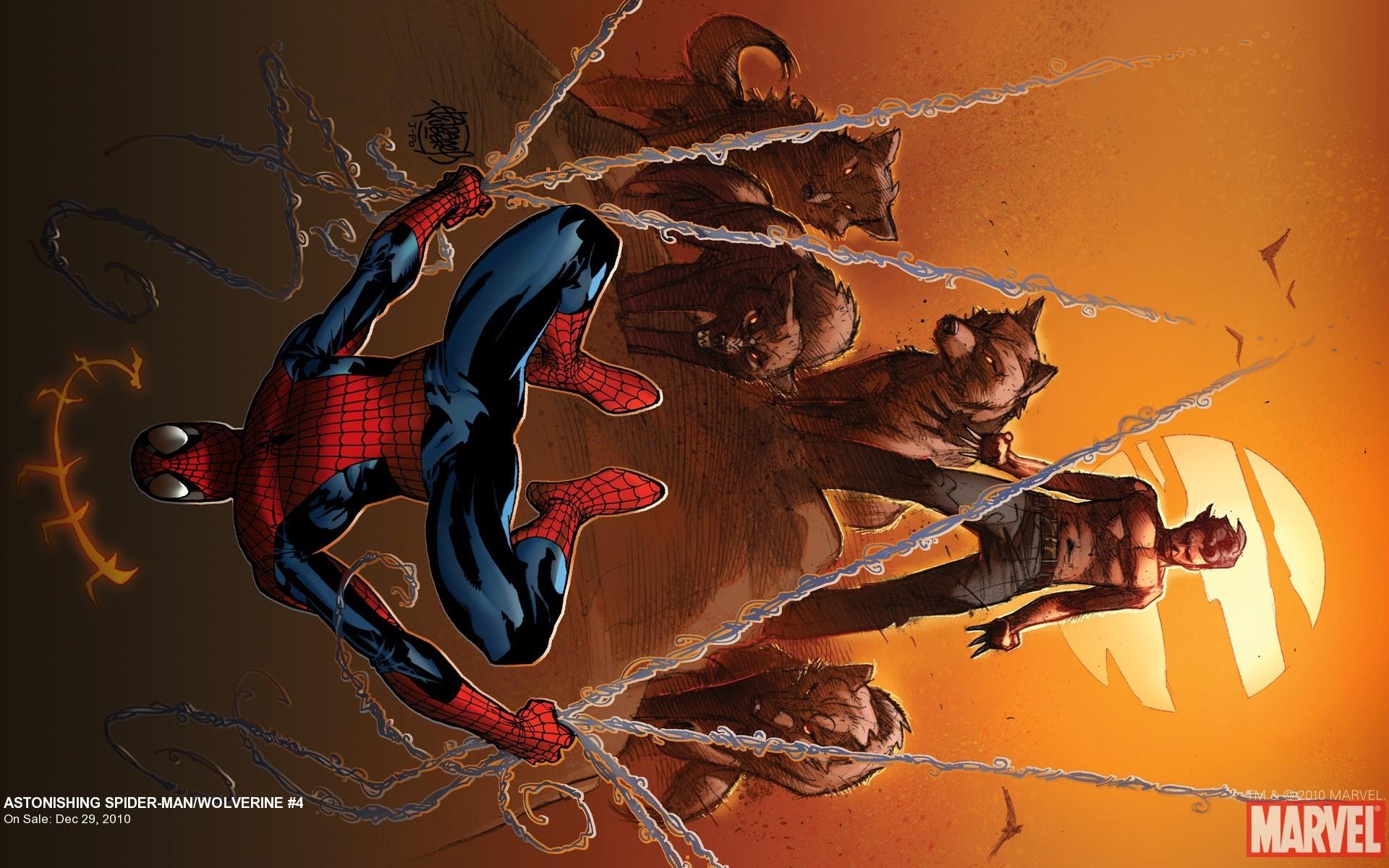 Res: 1920x1200, Astonishing Spider-Man/Wolverine #4