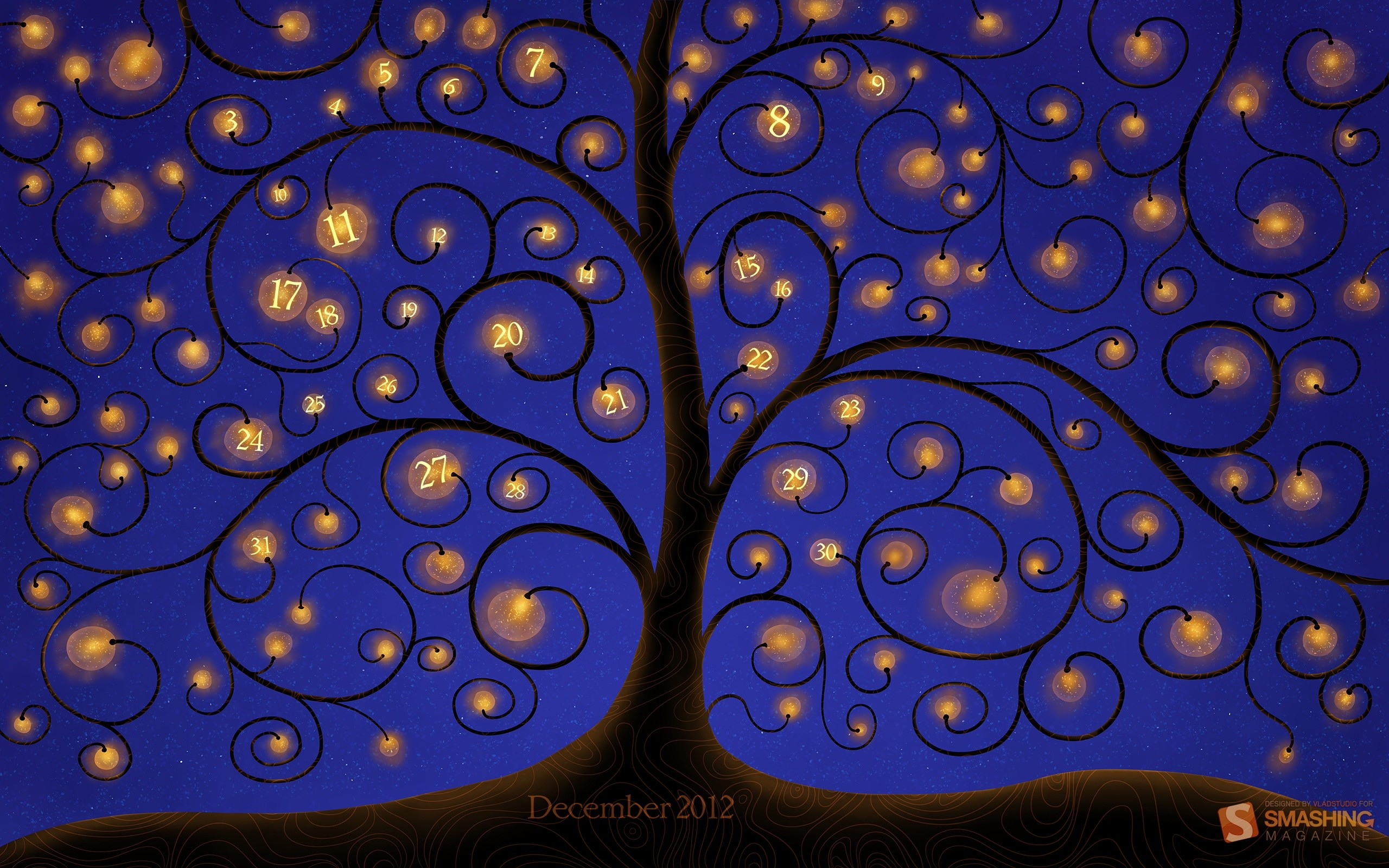 Res: 2560x1600, Bild: Baum Of Lights wallpapers and stock photos. Â«