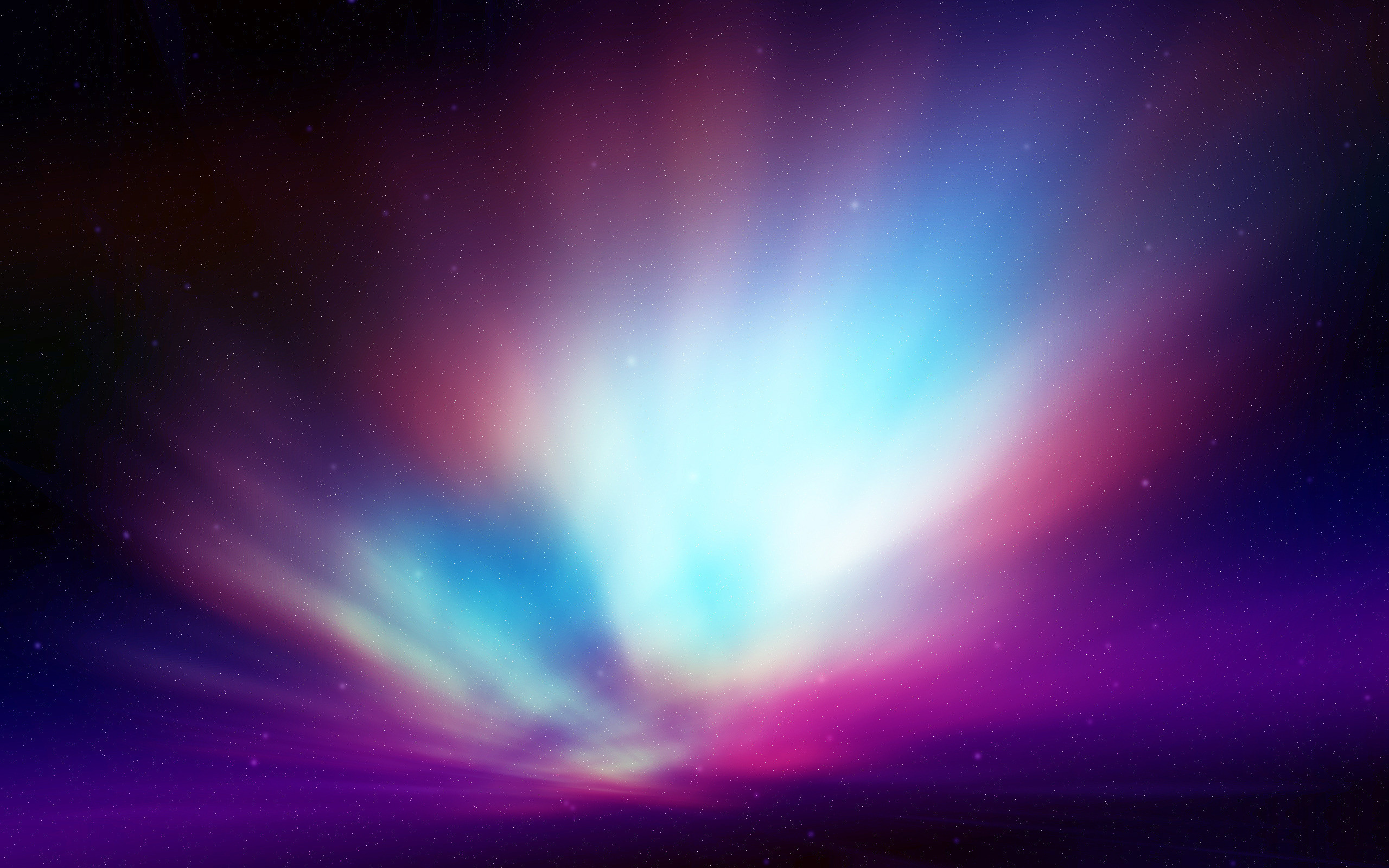 Res: 2560x1600, Purple Northern Lights Wallpapers Background