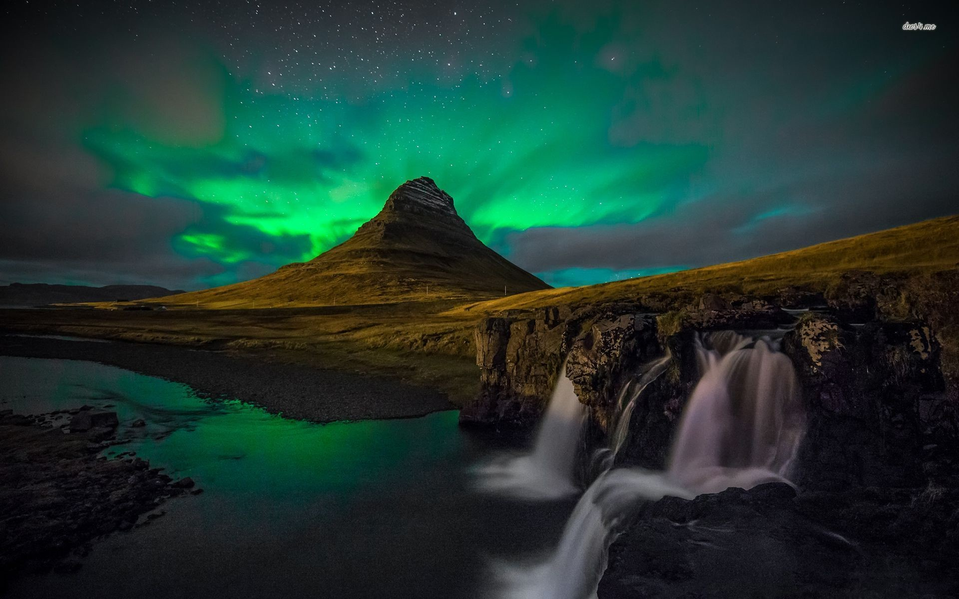 Res: 1920x1200, Iceland Northern Lights Wallpapers Wide