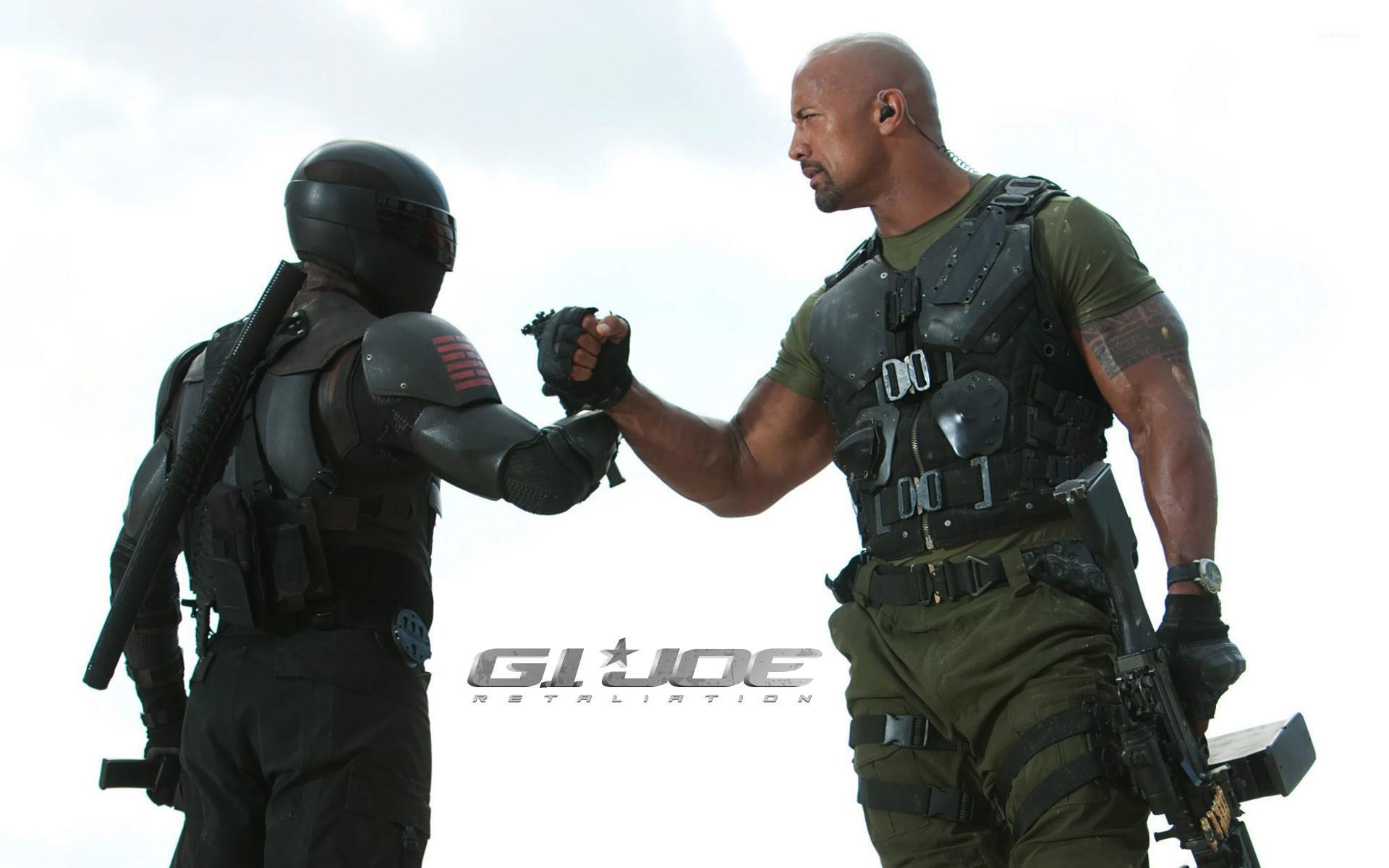 Res: 1920x1200, Roadblock and Snake Eyes - G.I. Joe: Retaliation wallpaper