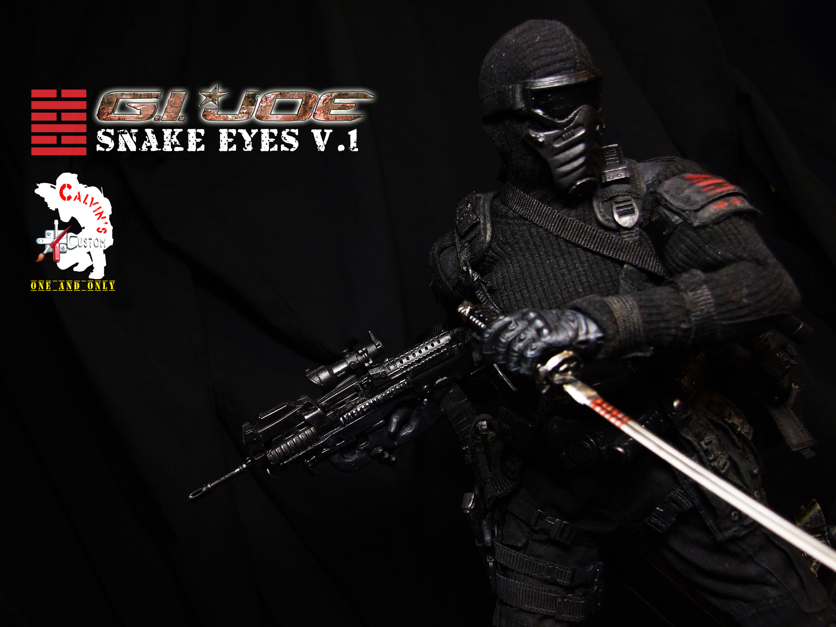 Res: 2848x2136, Snake Eyes images Calvin's Custom Snake Eyes Version 1 HD wallpaper and  background photos
