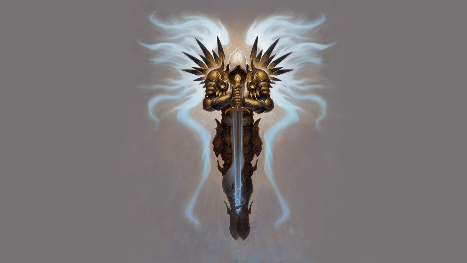 Res: 1920x1080, iPhone Video Game/Diablo III Wallpaper ID: 1024×768 Diablo 3 Tyrael  Wallpapers