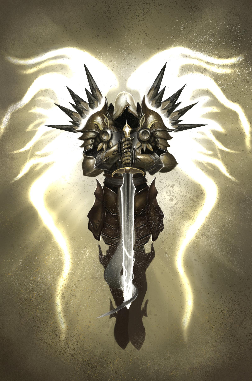 Res: 1600x2424, ... ShidiwenBrown Tyrael, Archangel of Justice. by ShidiwenBrown