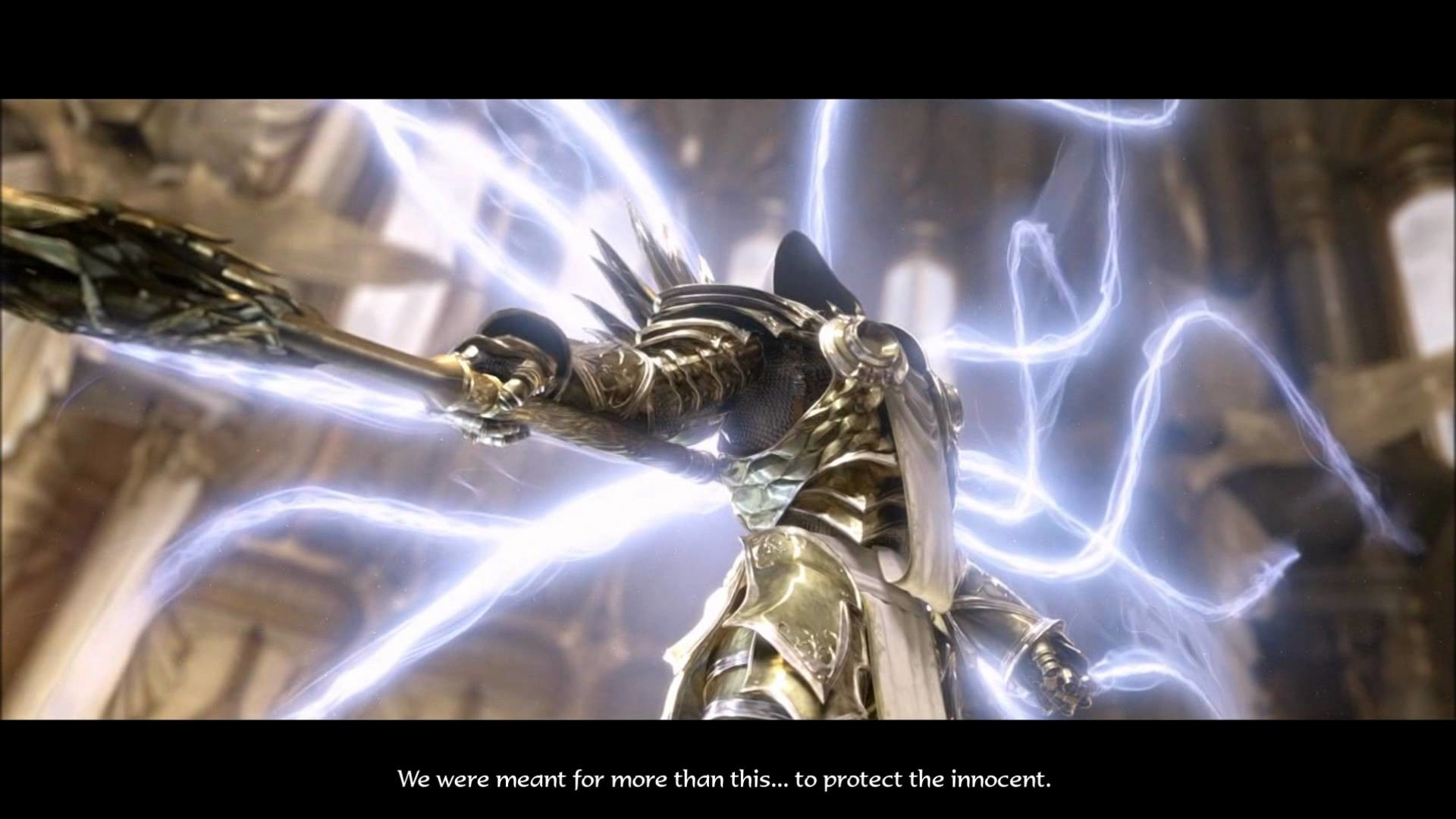 Res: 1920x1080, Diablo 3 - Imperius and Tyrael Cinematic (HD)