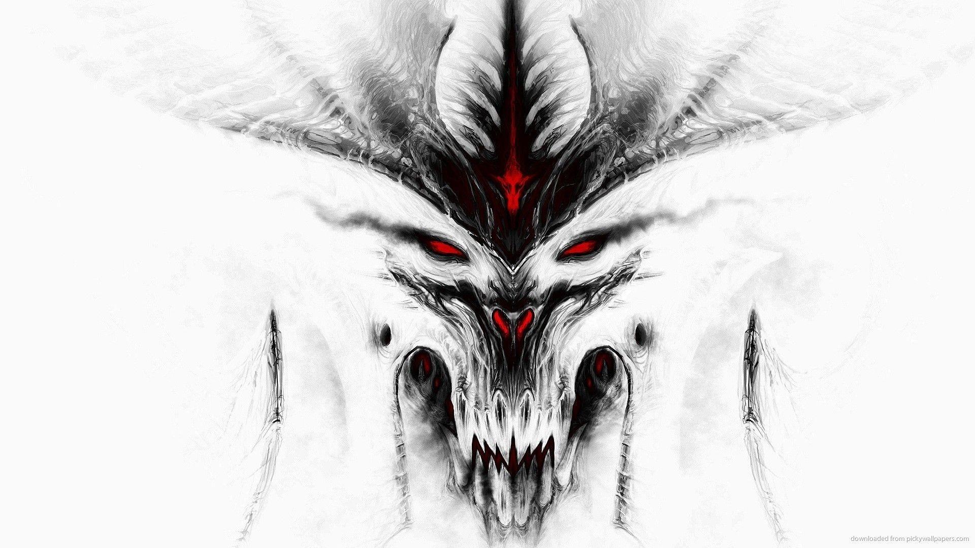 Res: 1920x1080, HD Diablo 3 White Wallpaper