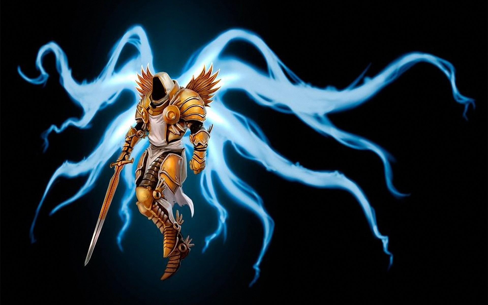 Res: 1920x1200, Diablo 3 Tyrael wallpaper