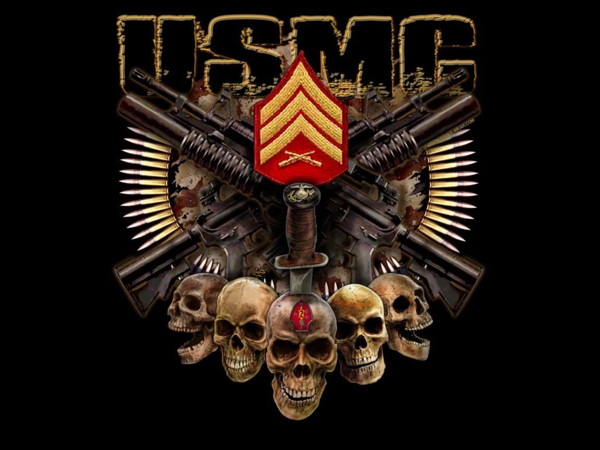 Res: 2048x1536, Awesome USMC wallpaper.