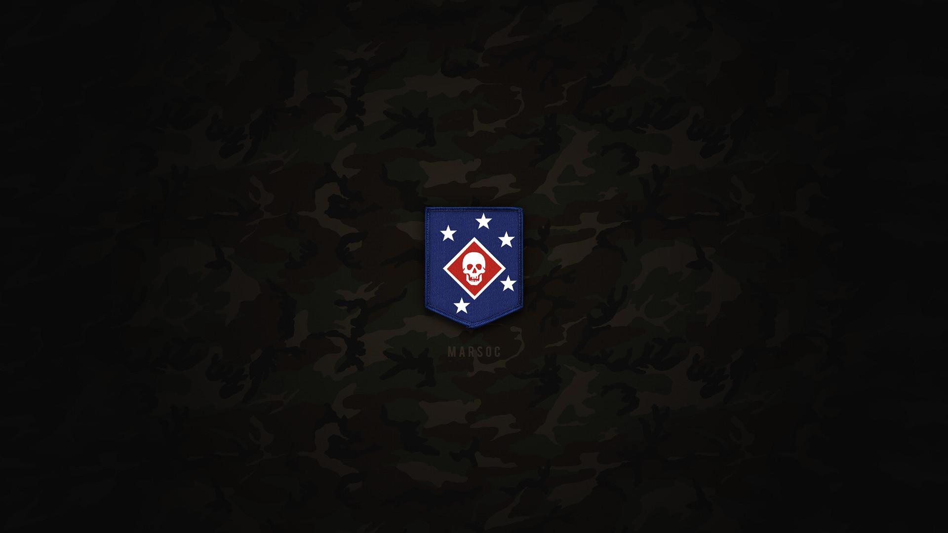 Res: 1920x1080, ... Marine Raider Patch | MARSOC | HD Wallpaper by ignitedkaos