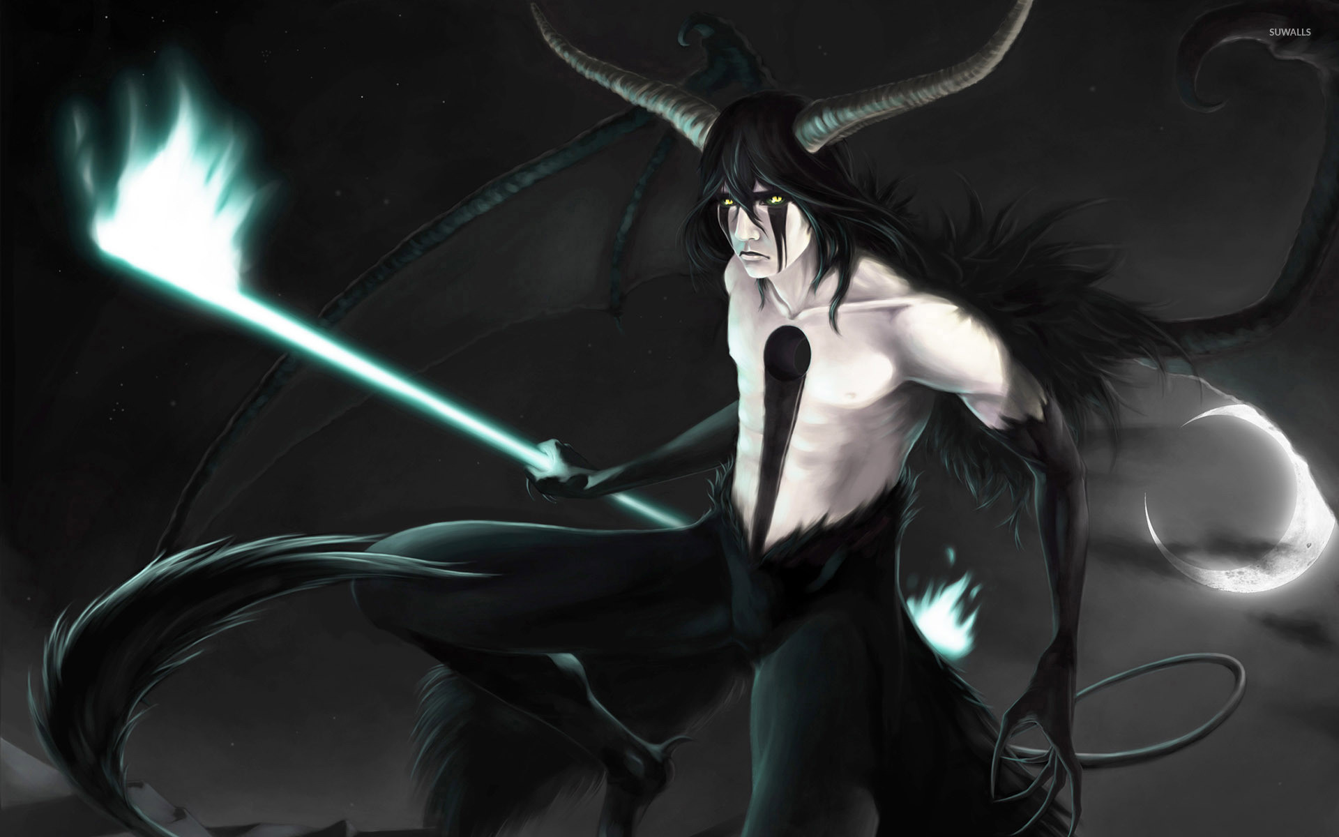 Res: 1920x1200, Ulquiorra Cifer from Bleach wallpaper
