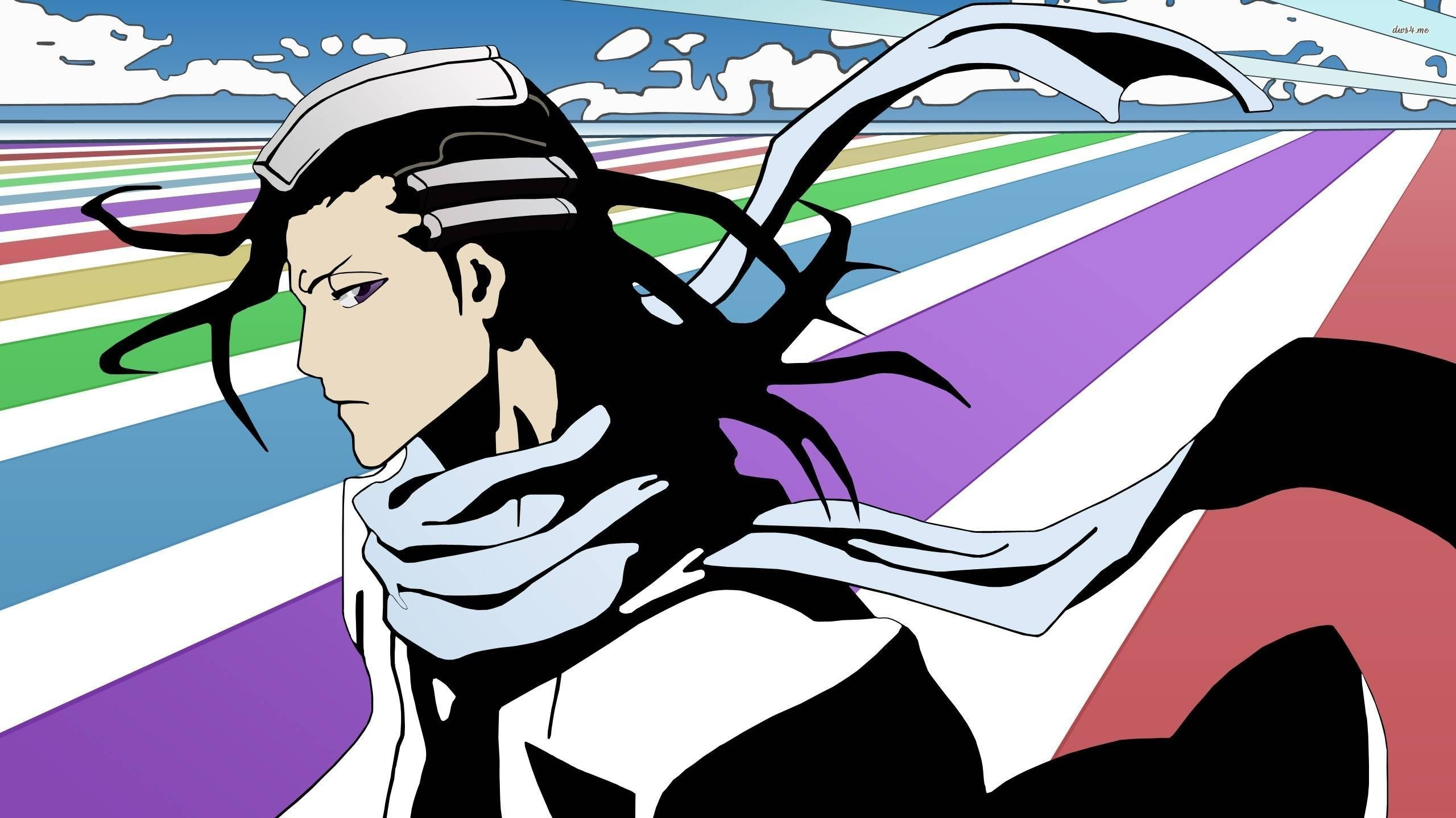 Res: 2560x1440, ... Byakuya Kuchiki - Bleach wallpaper  ...
