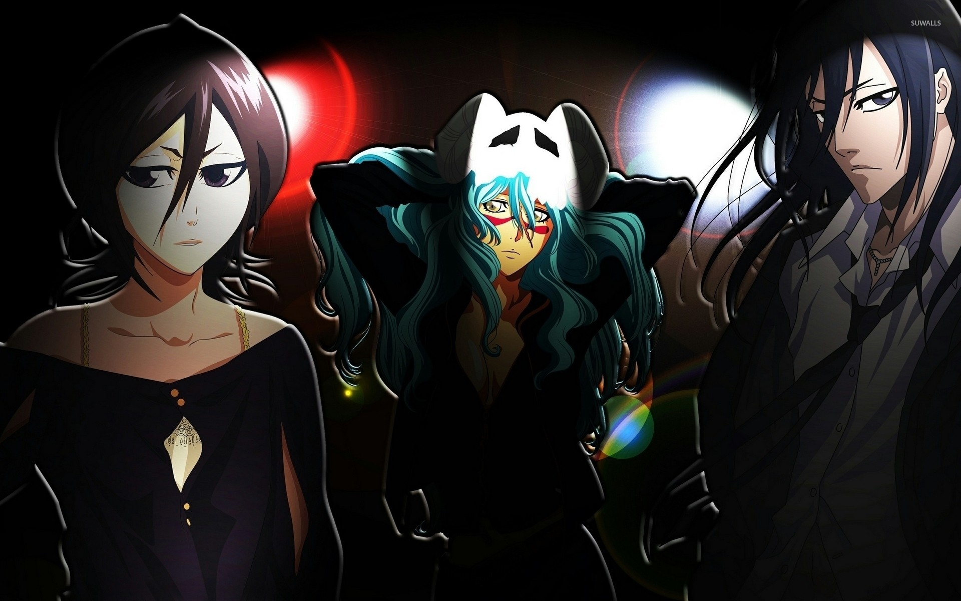 Res: 1920x1200, Rukia, Nelliel and Byakuya - Bleach wallpaper