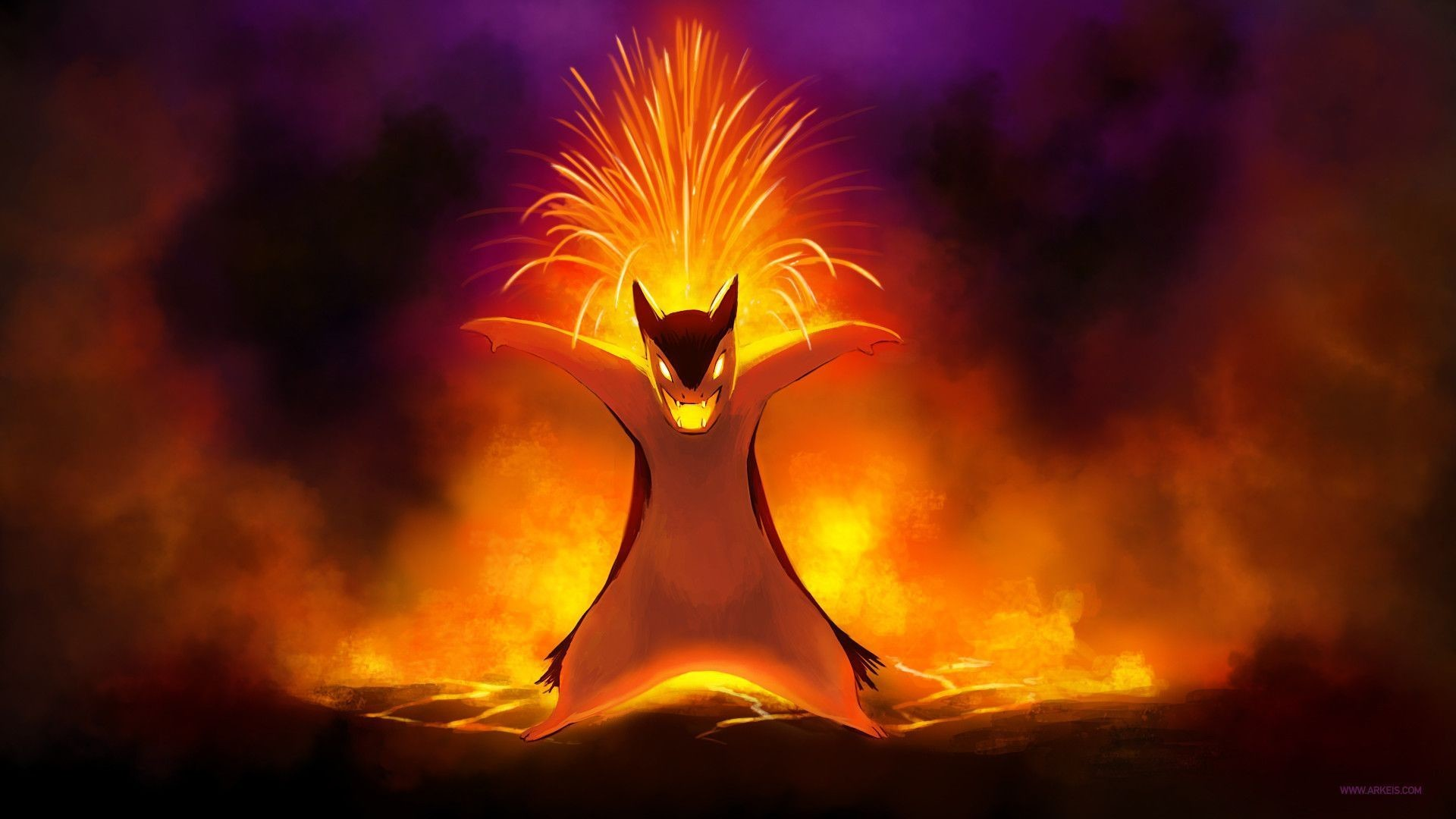 Res: 1920x1080, Typhlosion Wallpapers - Wallpaper Cave