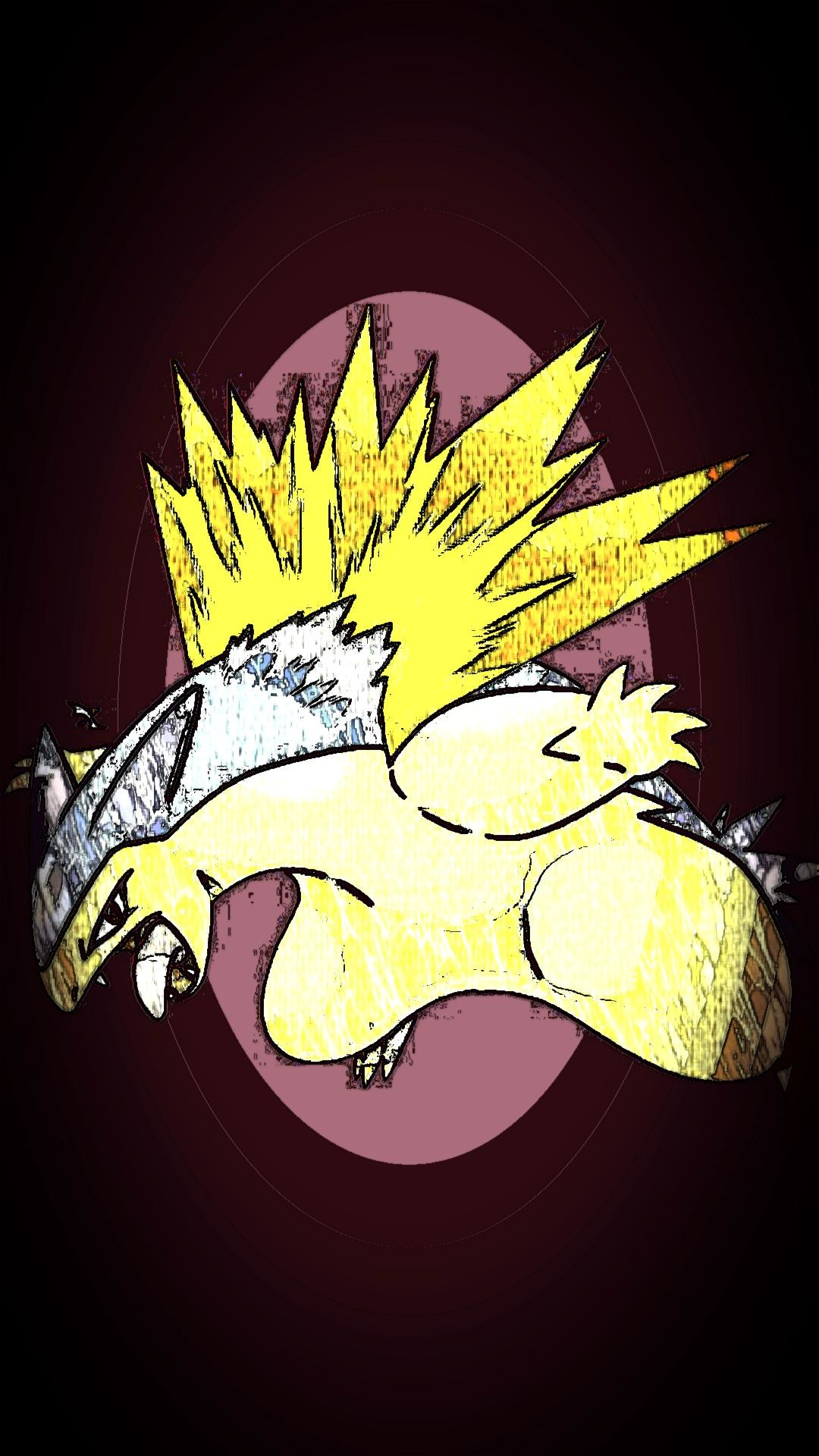 Res: 1080x1920, An edited Typhlosion for a phone wallpaper, requested by Hedgehog706.