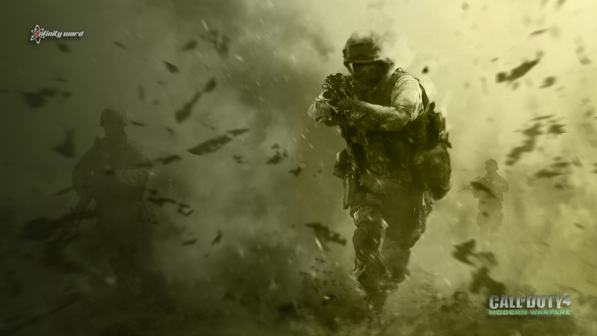 Res: 1920x1080, 17 Call Of Duty 4: Modern Warfare HD Wallpapers | Background Images -  Wallpaper Abyss