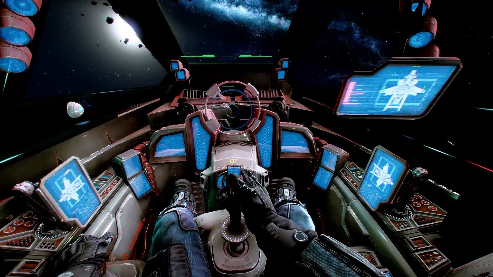 Res: 1920x1080, Hornet Cockpit in EVE