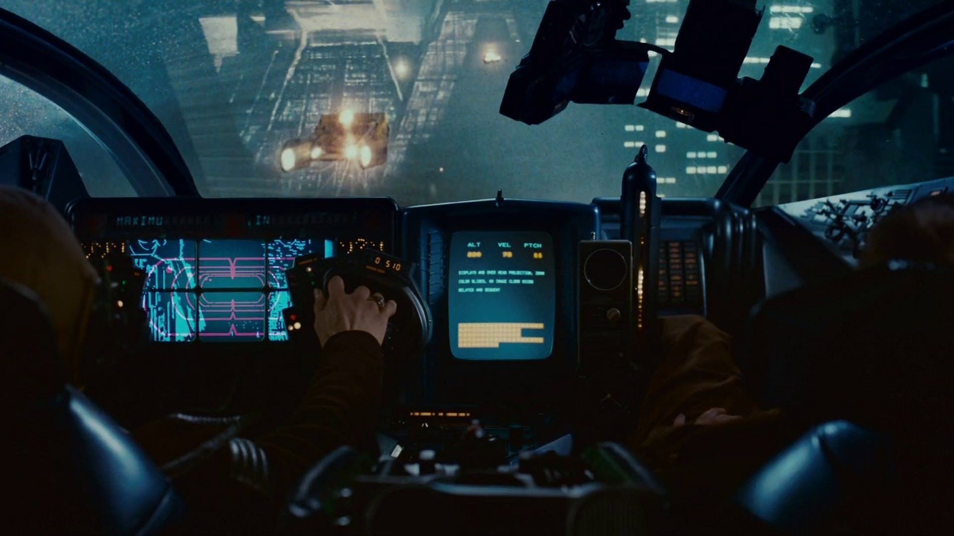 Res: 1920x1080, Blade Runner Cockpit [] Link :  https://toptenbeautifulwallpaper.blogspot.com - Top ten Beautiufl wallpaper