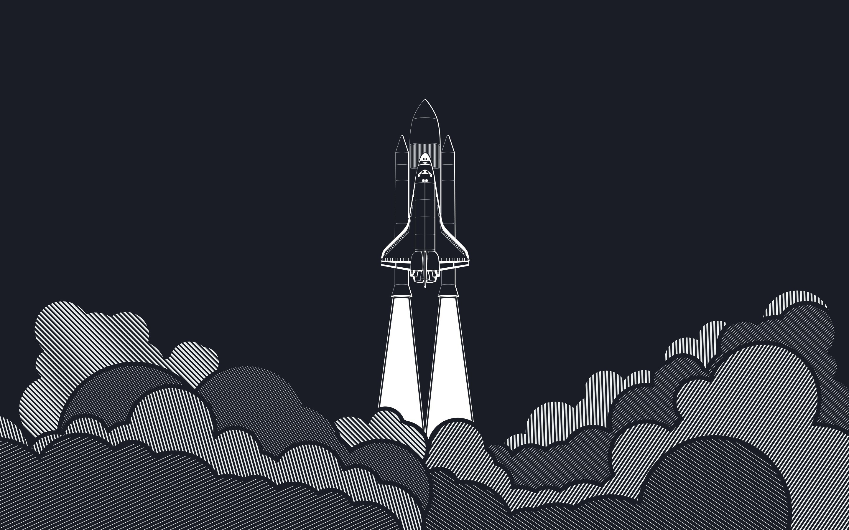 Res: 2880x1800, Space Shuttle Wallpapers Widescreen