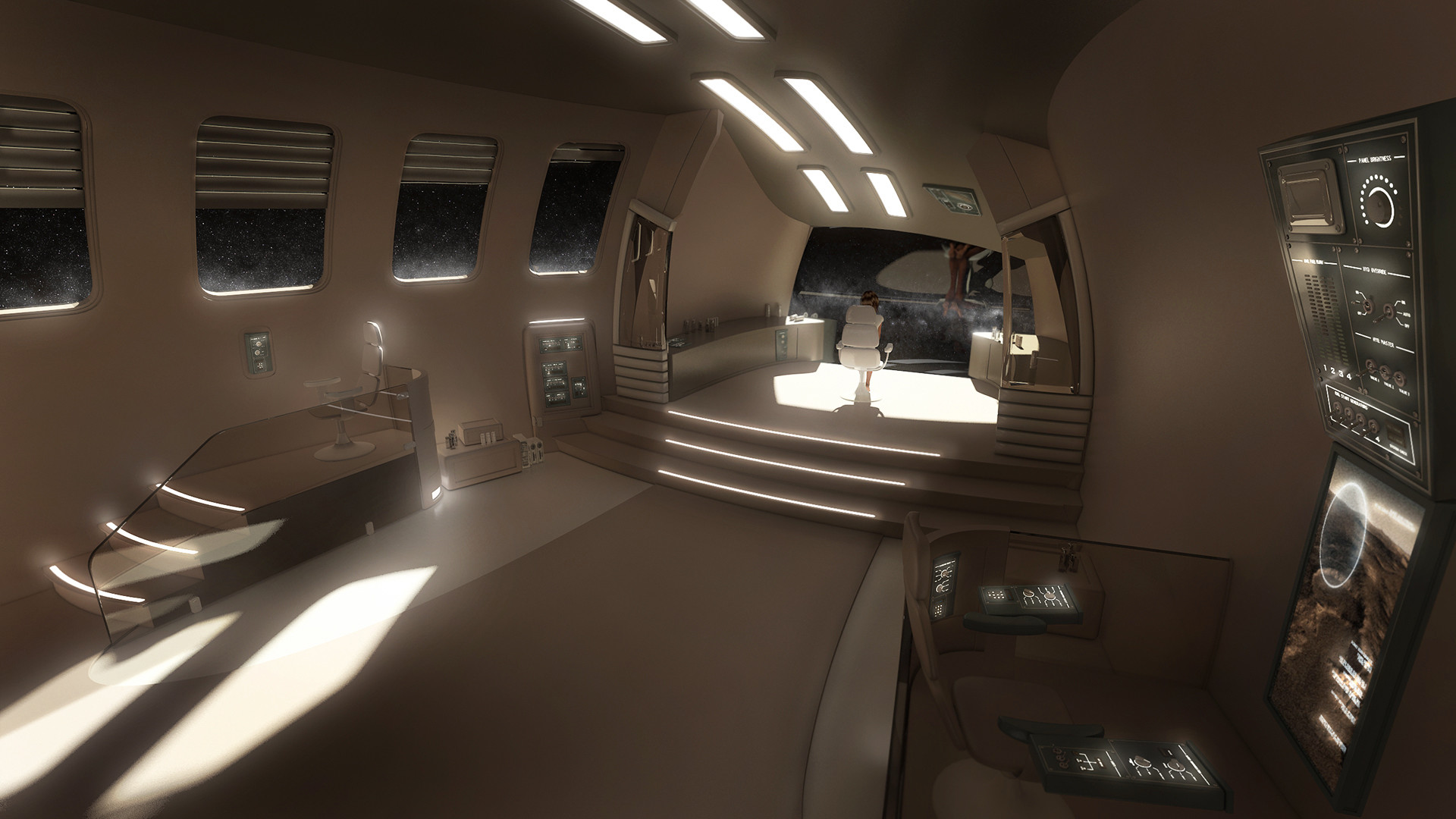 Res: 1920x1080, Spaceship interior wallpaper 23808 Interior hd pic