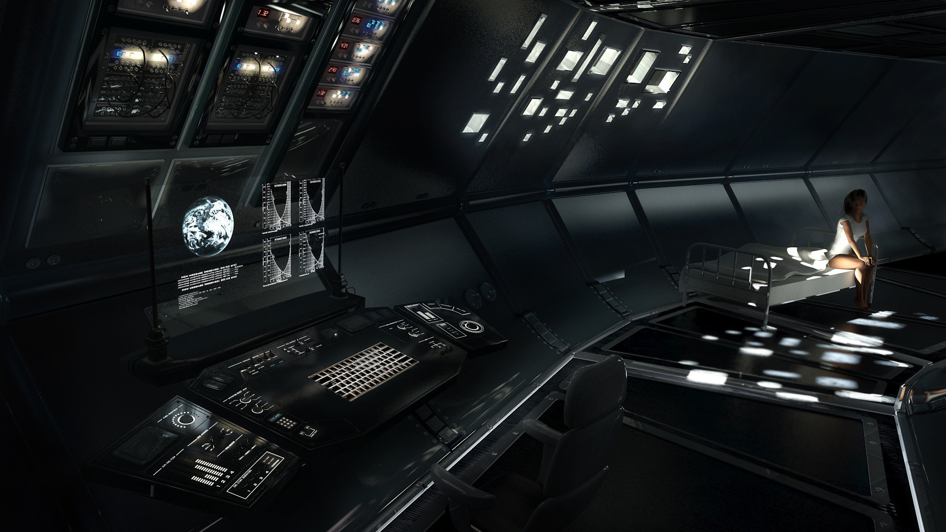 Res: 1920x1080, excellent 14 interior spaceship wallpaper inspirational