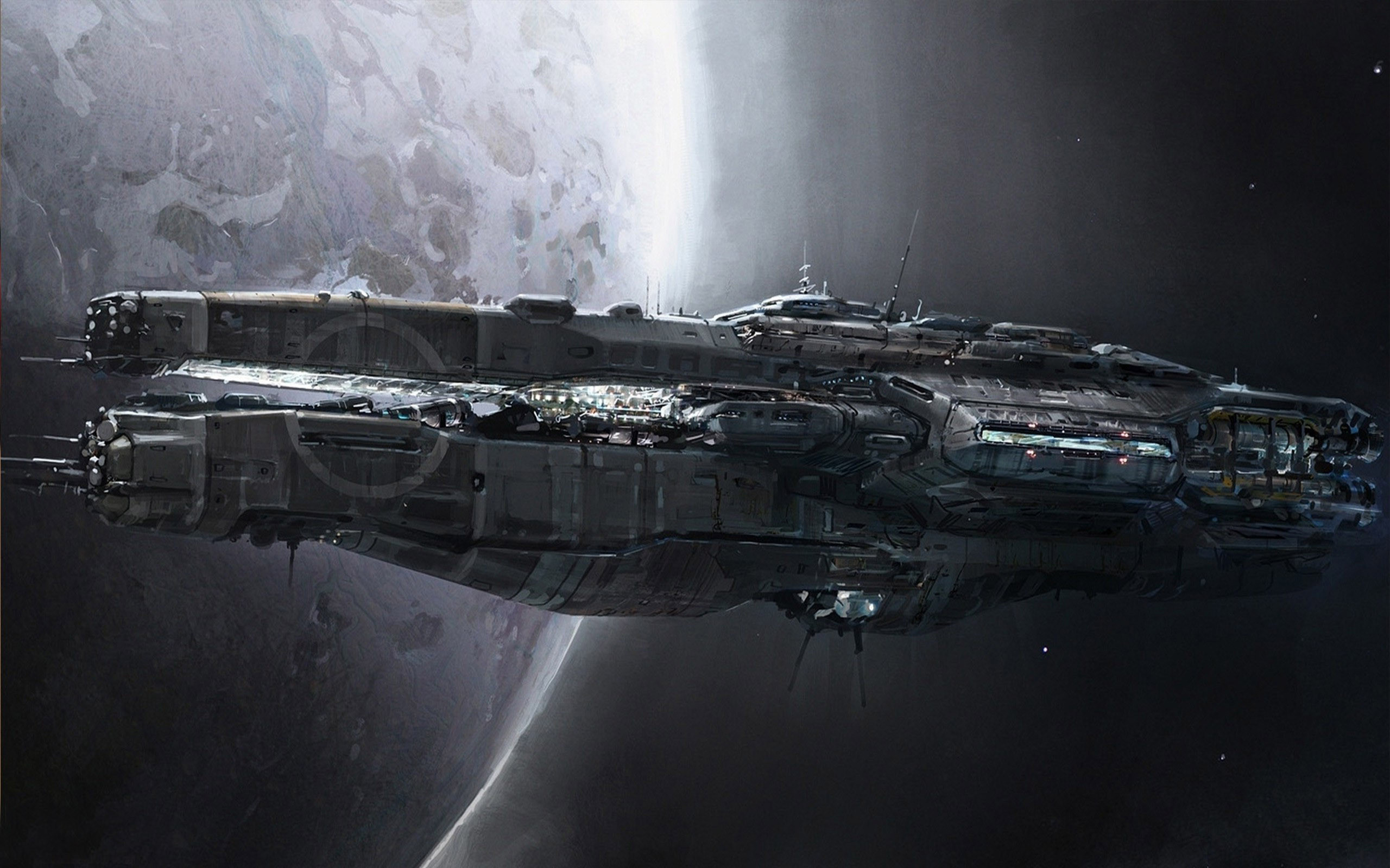 Res: 2560x1600, Spaceship Picture For Free Wallpaper