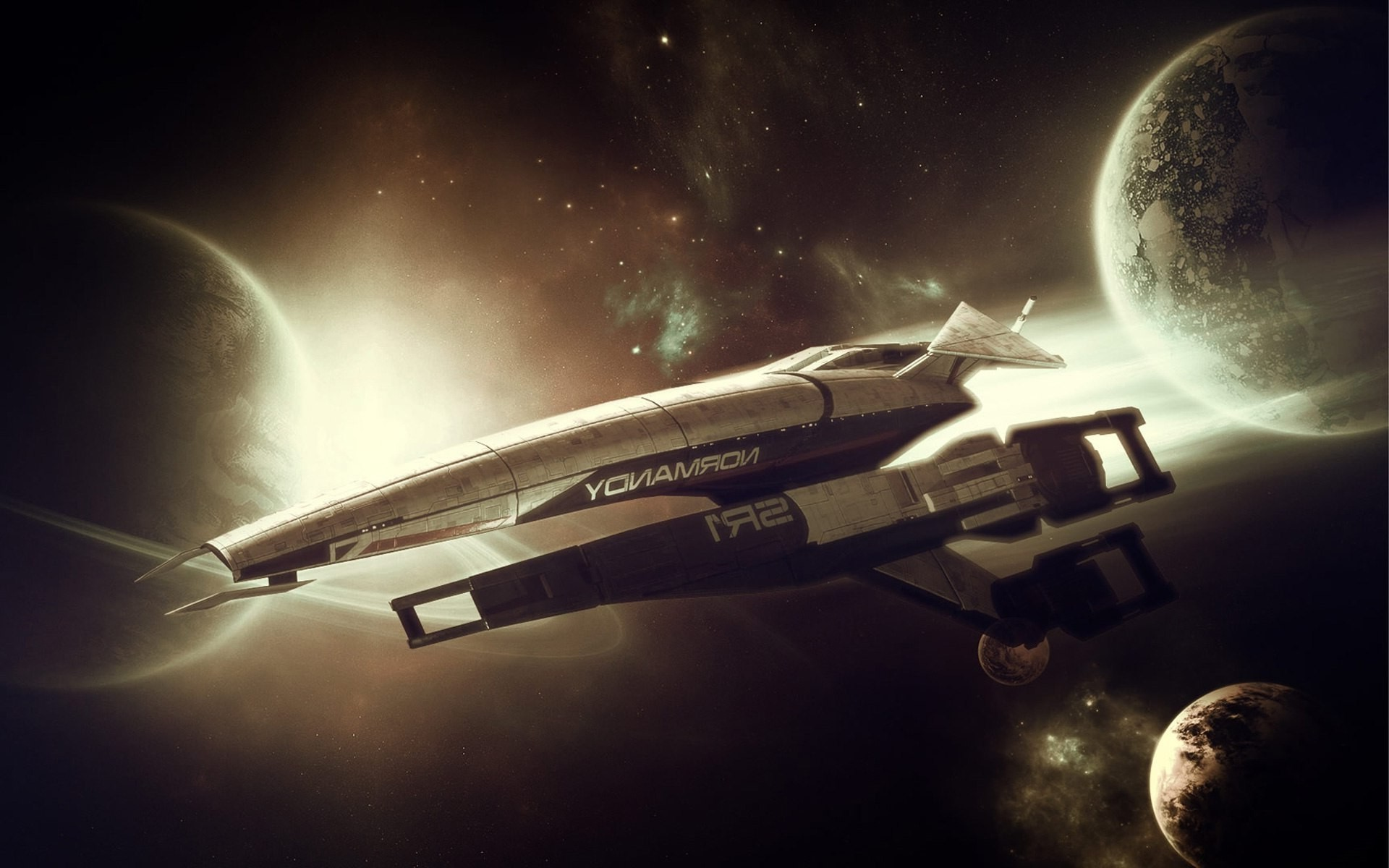 Res: 1920x1200, spaceship space station normandy sr 1 mass effect wallpaper and background