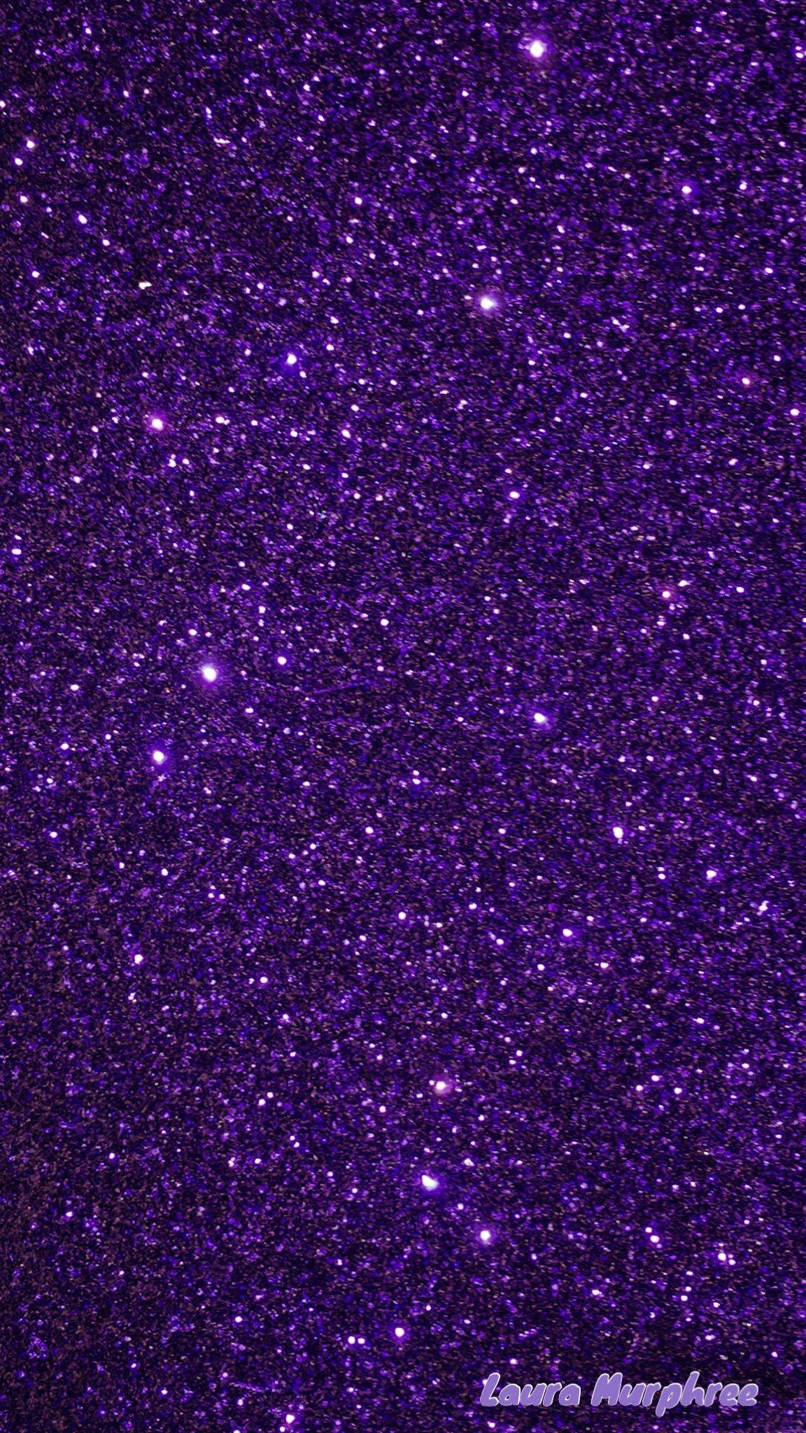 Res: 1152x2048, Glitter phone wallpaper purple sparkle background glittery sparkling girly  pretty