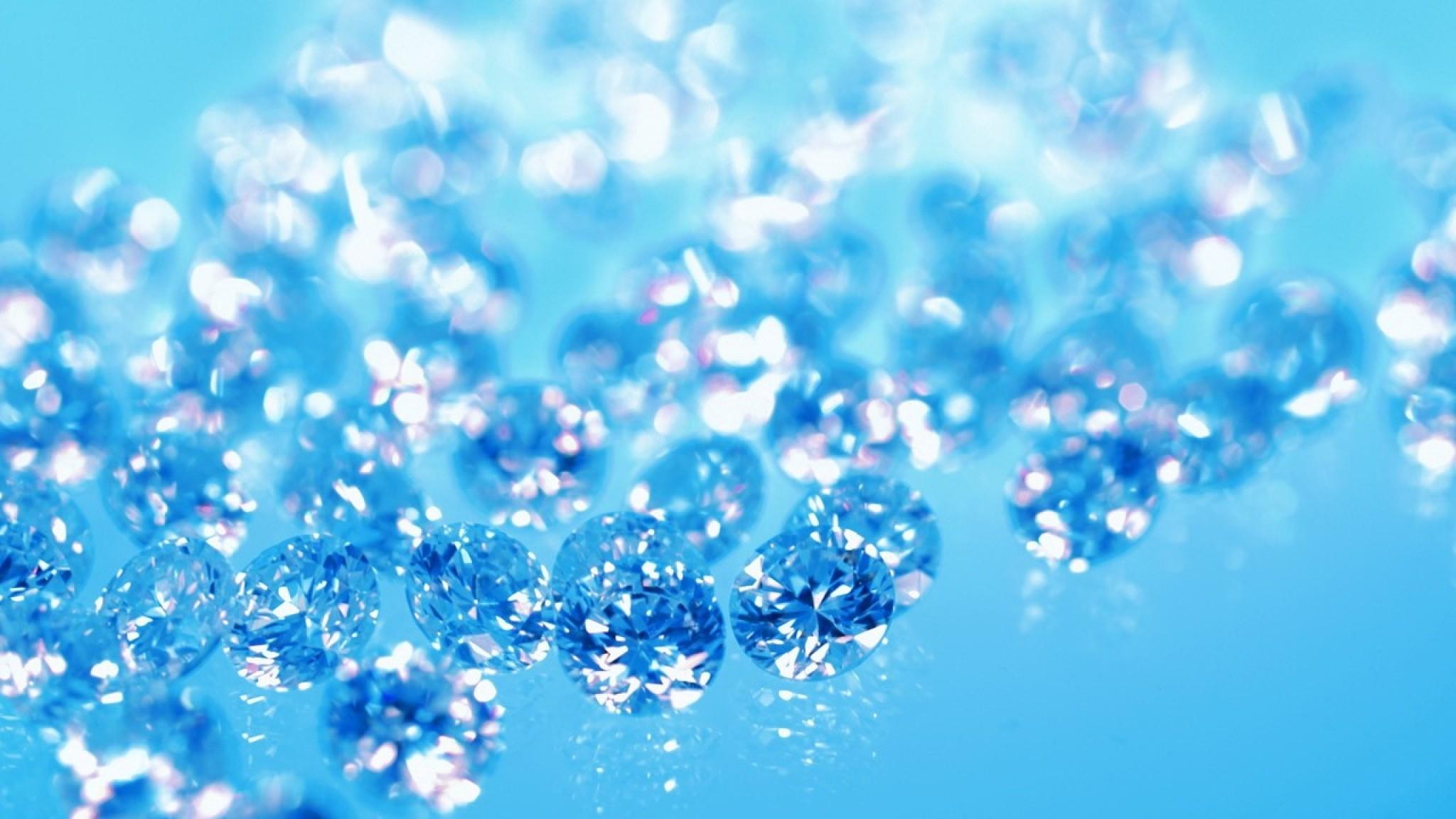 Res: 2048x1152, Blue Diamonds Wallpaper Hd