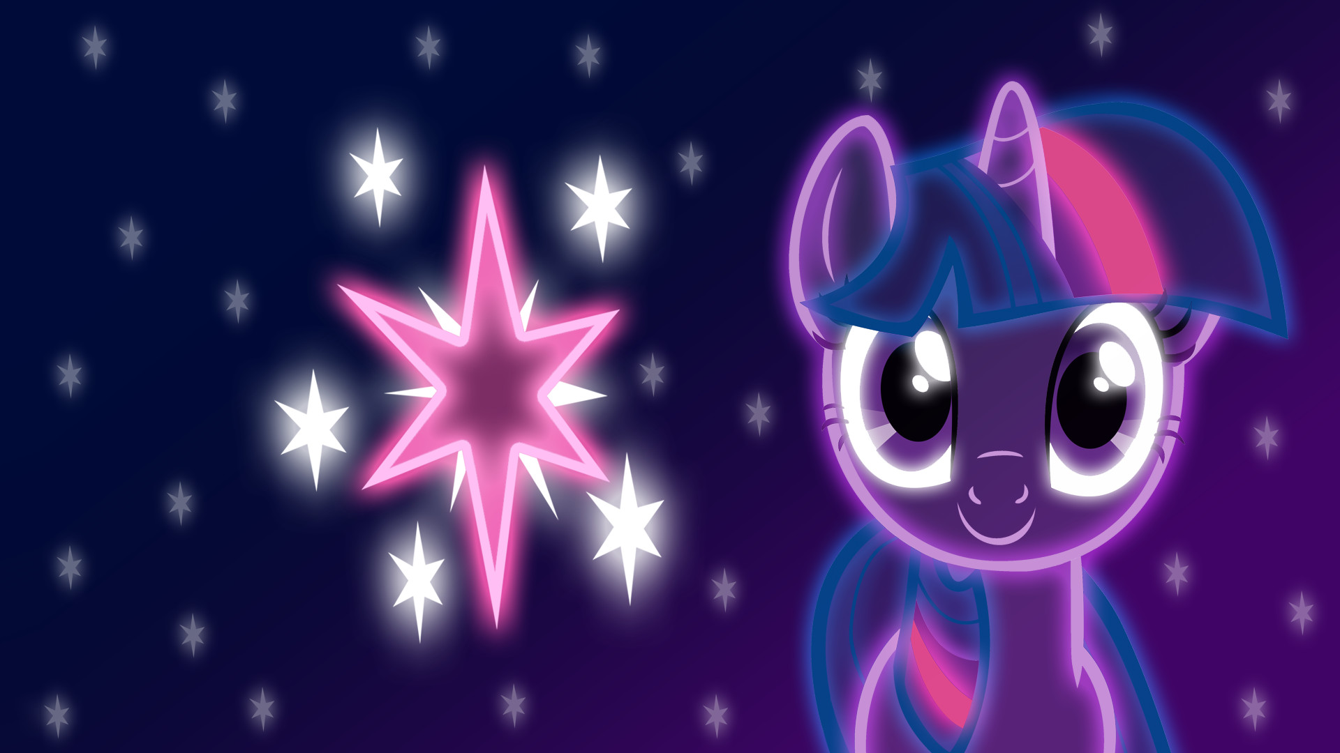 Res: 1920x1080, Neon Twilight Sparkle Wallpaper by ZantyARZ Neon Twilight Sparkle Wallpaper  by ZantyARZ
