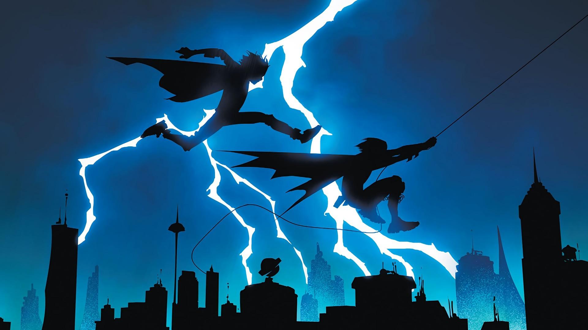 Res: 1920x1080, Comics - Super-Sons Superboy Robin (DC Comics) Damian Wayne Wallpaper