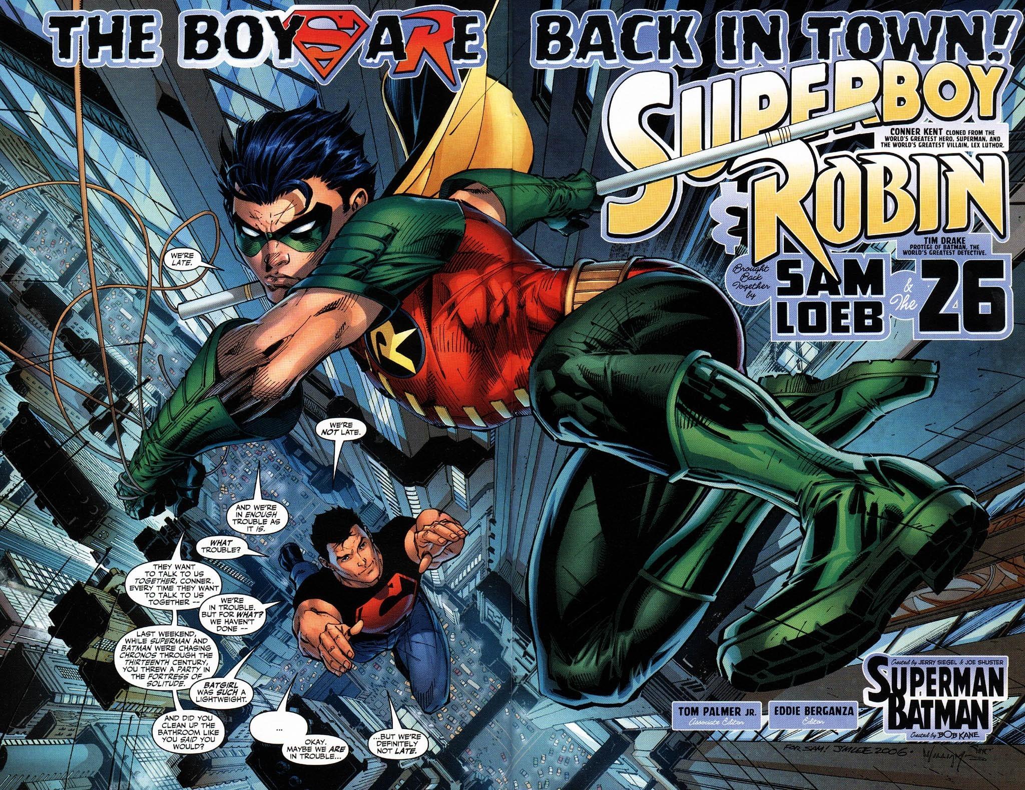 Res: 2048x1580, Dc comics robin superboy superheroes wallpaper