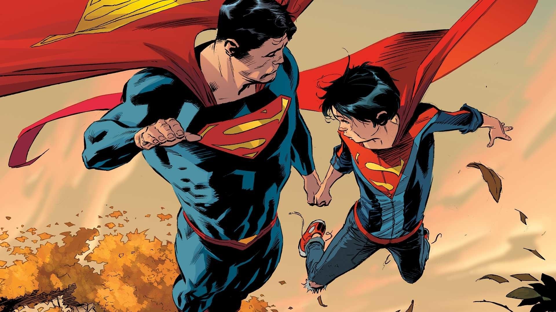 Res: 1920x1080, Comics - Superman Superboy DC Comics Wallpaper