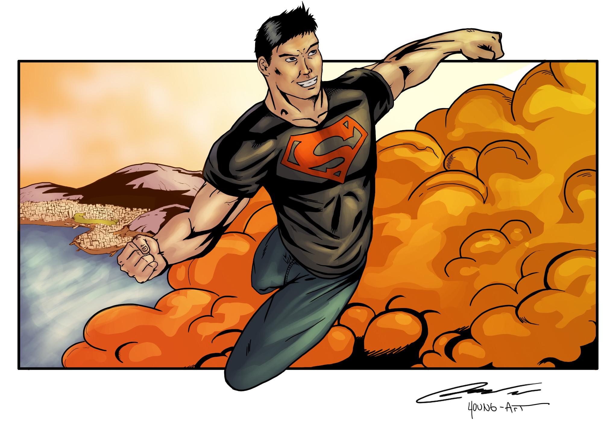 Res: 2034x1438, Superboy Wallpaper Images TheCelebrityPix