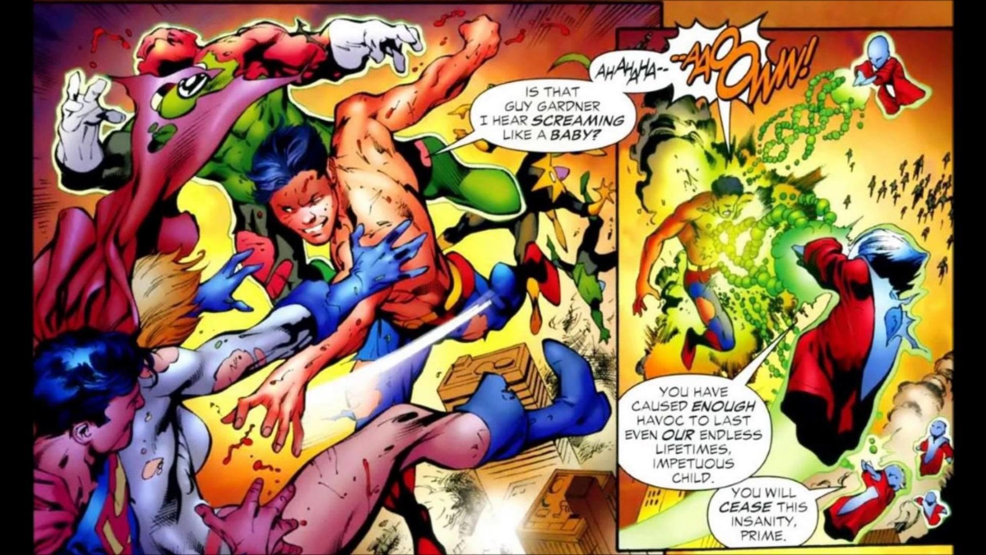 Res: 1920x1080, Superboy-Prime-vs-Everyone