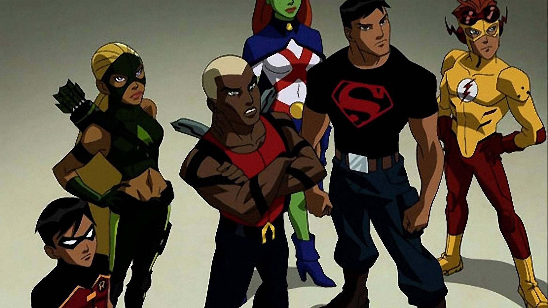 Res: 1920x1080, Free Desktop Wallpapers Young Justice Wallpapers Wide