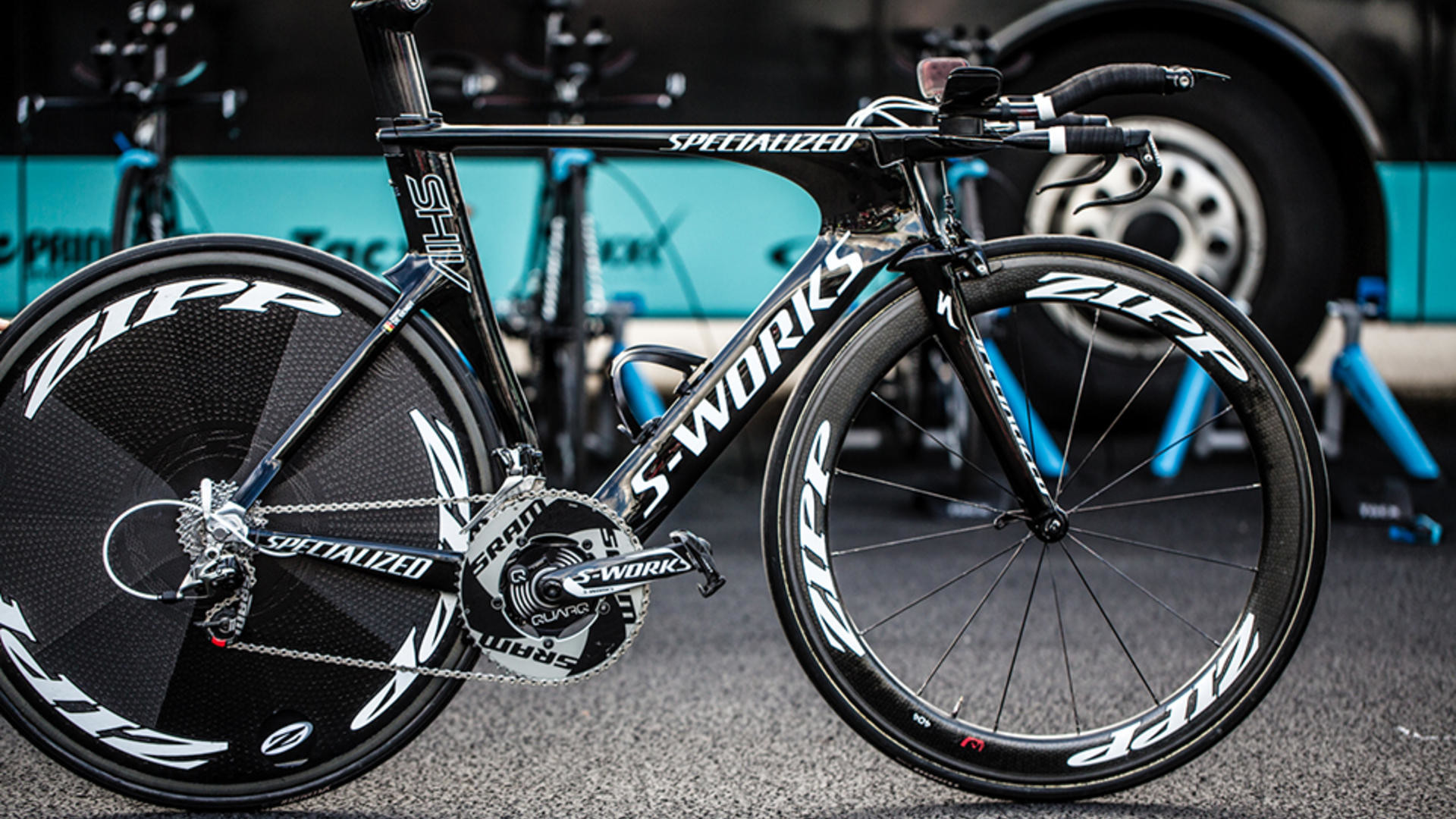 Res: 1920x1080, Thomas de Gendt's Specialized Shiv SRAM RED 22 ...