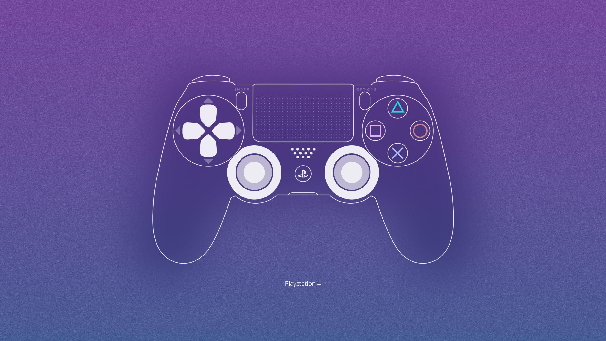 Res: 2560x1440, Playstation 4 Wallpaper by ljdesigner on DeviantArt