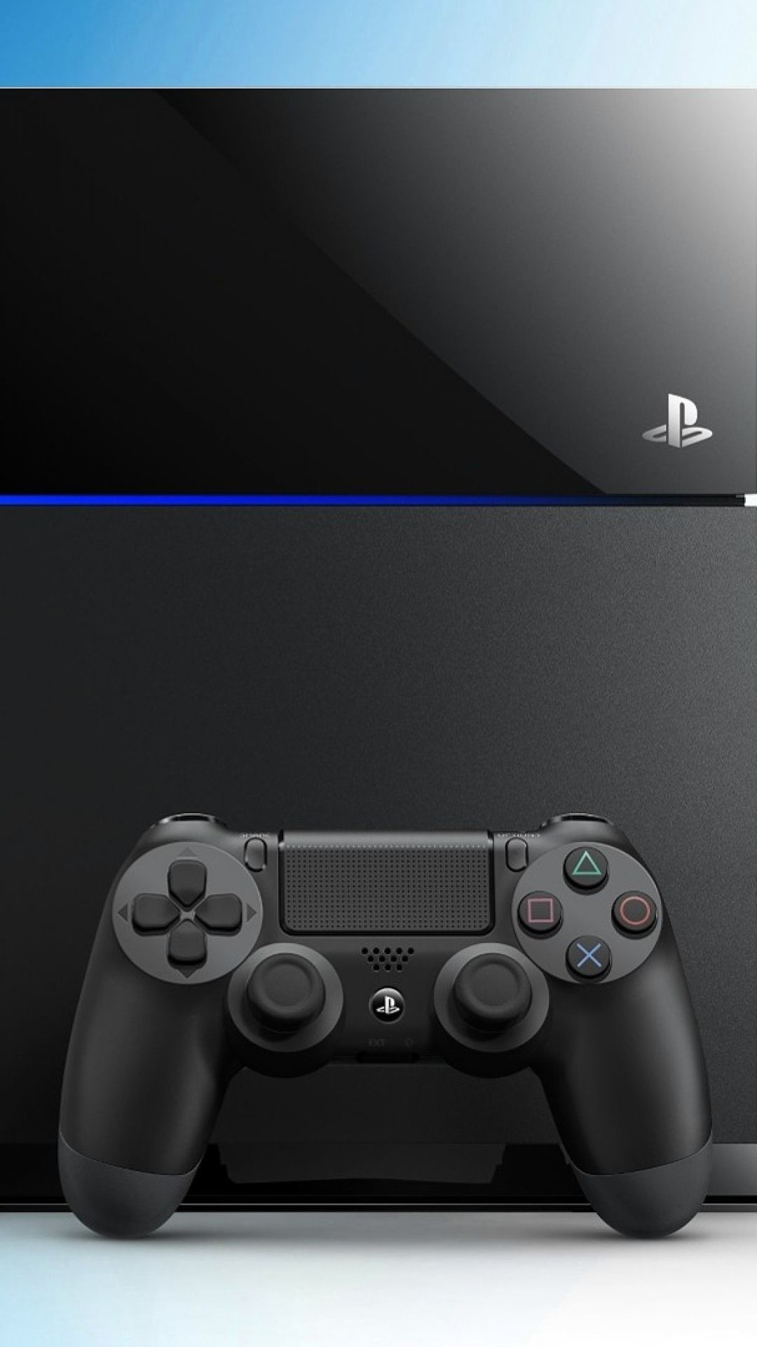 Res: 1080x1920, Download Wallpaper  Playstation 4, Console, Controller .