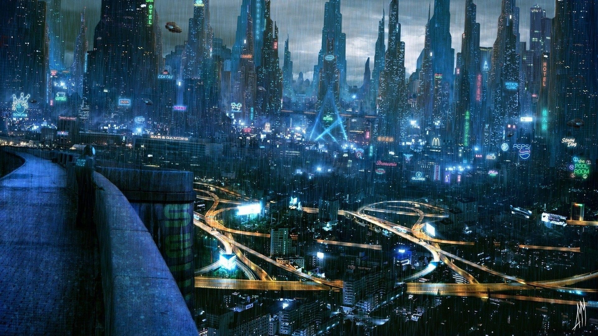 Res: 1920x1080, Future City HD Wallpapers - HD Wallpapers Inn