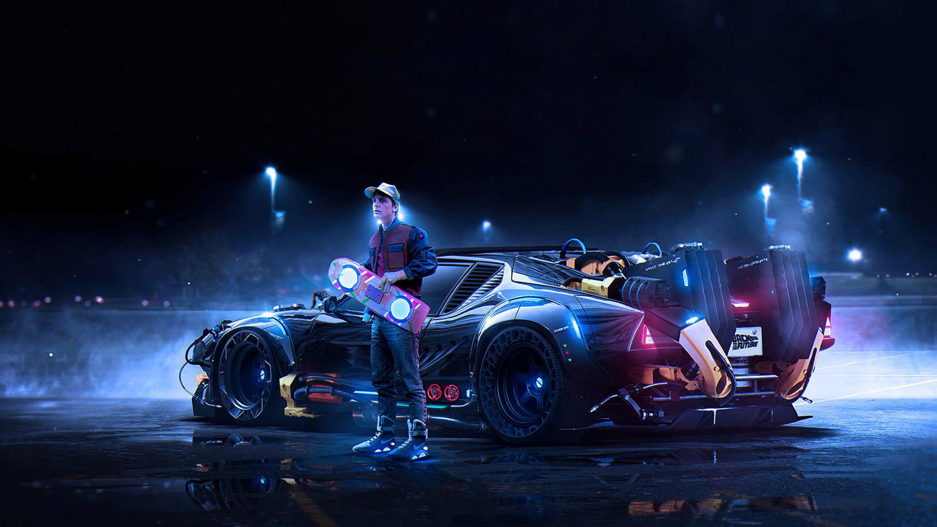 Res: 1920x1080, Back To The Future Wallpaper