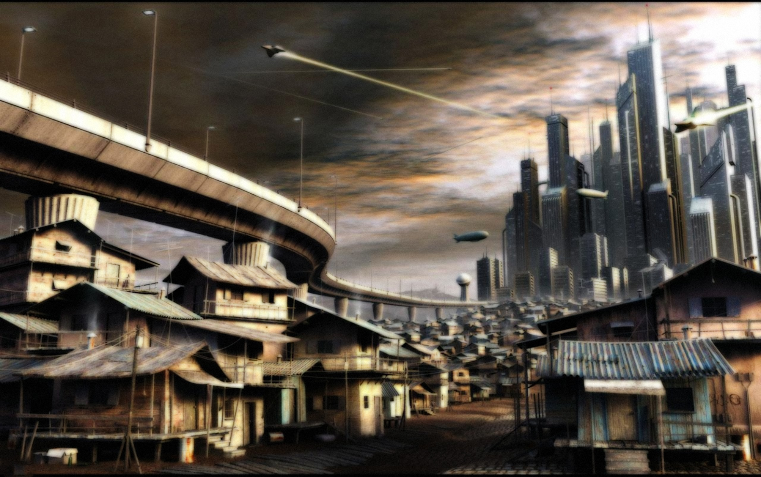 Res: 2560x1605, Architecture cities future wallpaper