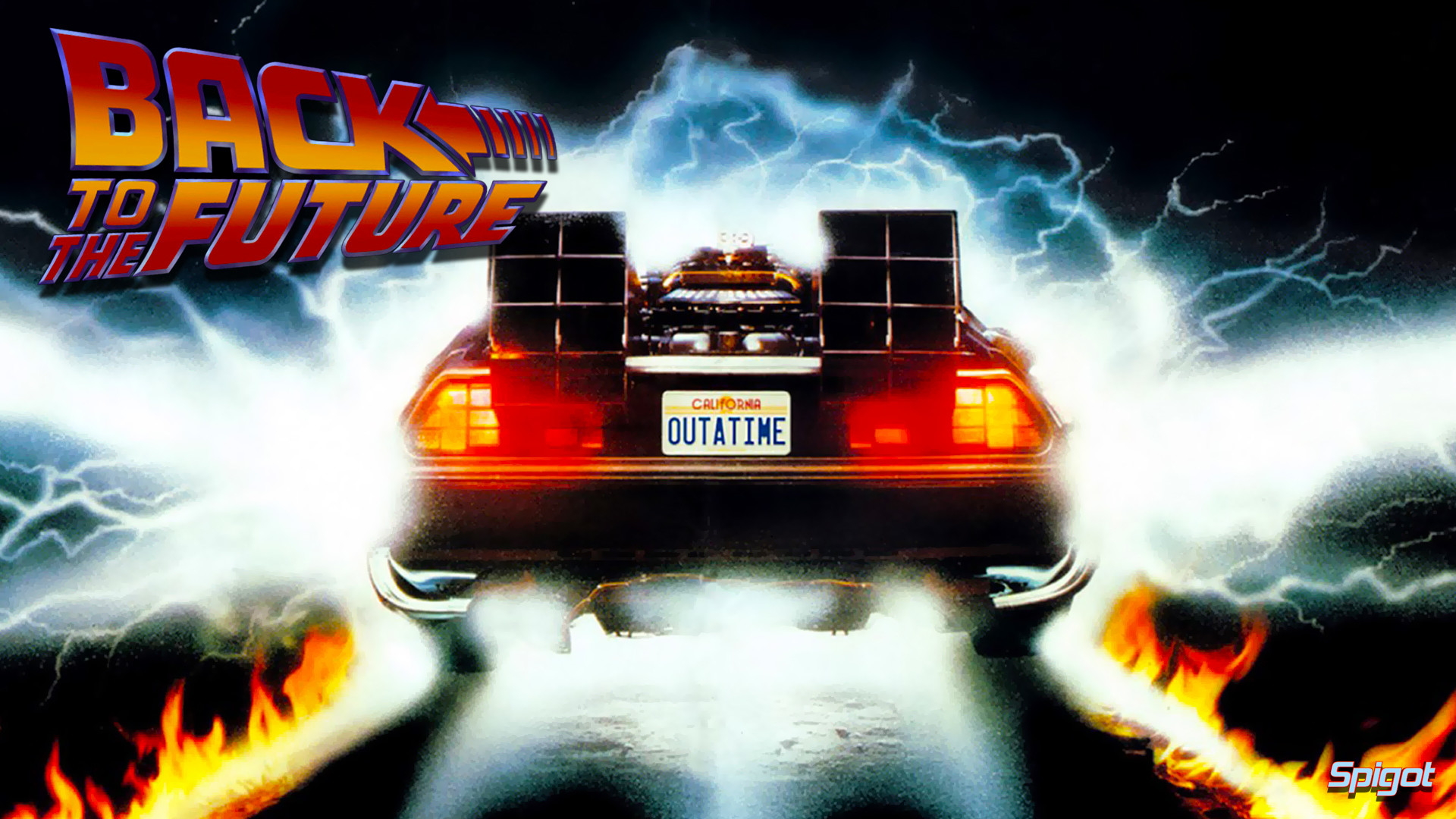 Res: 1920x1080, ... back-to-the-future-car-in-the-movie-wallpaper-3.jpg ...